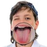 دلیل سفیدی زبان!