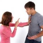 واکنش متفاوت زن ها و مردها در دعوا