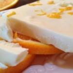 چیز کیک با کرم پرتقالی