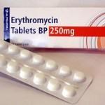 مقدار مصرف داروی اریترومایسین برای کودکان !