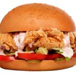 ساندویچ مرغ سوخاری