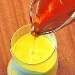 شیر زردچوبه میل کنید تا سرما نخورید