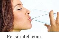 نوشیدن آب بیشتر!