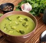 سوپ زمستانی کلم بروکلی