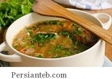 دستور پخت سوپ سبزیجات زمستانی