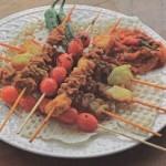 طرز تهیه کباب چوبی خوشمزه و لذیذ