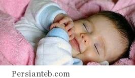 چرا کودک در خواب لبخند می زند؟!