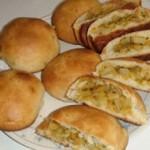 طرز تهیه نان های شکم پر خوشمزه و لذیذ!