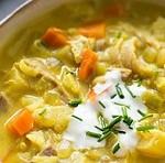 دستور تهیه سوپ بسیار لذیذ بوقلمون