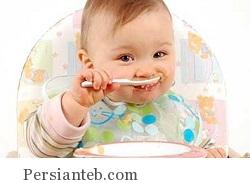 غذاهای جامد برای کودک