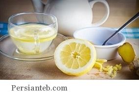 طرز تهیه نوشیدنی زنجبیل و لیمو
