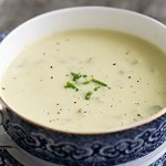 دستور العمل پخت سوپ خامه ای کرفس