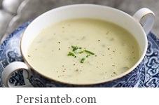 سوپ خامه ای کرفس
