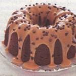 طرز تهیه کیک بادام زمینی شکلاتی