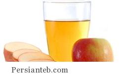 سرکهی آب سیب
