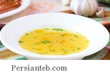 تهیه سوپ ساده