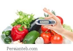 میان وعده افراد دیابتی