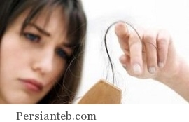 عوامل موقتی و دائمی ریزش مو