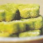 روش درست کردن شیرینی چای سبز