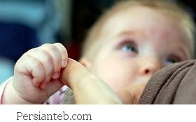 کم بودن شیر مادر