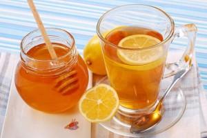 چای لیمو عسل