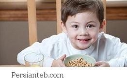 صبحانه سالم کودک