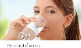 افزایش نوشیدن آب