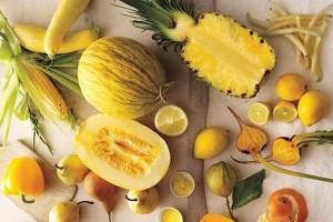 مواد غذایی زرد
