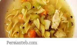 دستور تهیه سوپ مرغ و سبزیجات