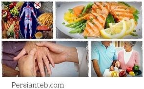 کاهش التهاب افراد روماتیسمی