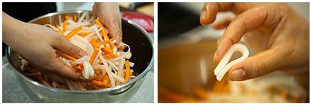 ترشی هویج و ترب سفید 2