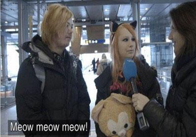 دختر گربه ای 2