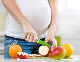 در دوران بارداری