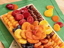 خشک کردن میوه تابستانی