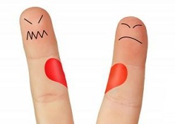روانکاوی خواستگاری با انگشتان