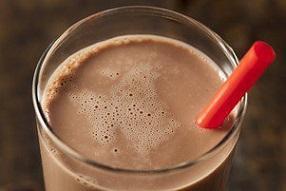 مصرف شیرکاکائو