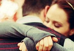 بغل کردن همسر