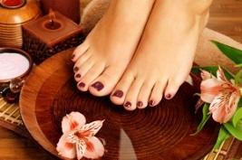 درمان خانگی برای ترک پا