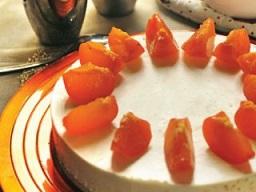 چیز کیک خرمالو