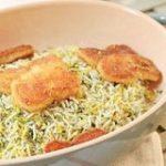 طرز تهیه سبزی پلو با ماهی گیاهی