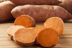 مزایای مصرف سیب زمینی شیرین