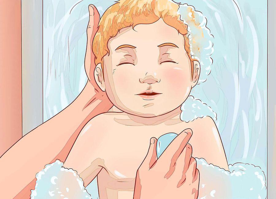 تمیز کردن نوزاد 3