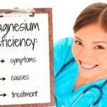 علت و علائم کمبود منیزیم در بدن
