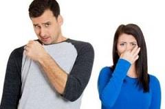 از بین بردن بوی عرق