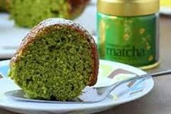 کیک رژیمی با چای سبز