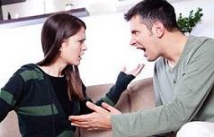 واکنش به همسر پرخاشگر