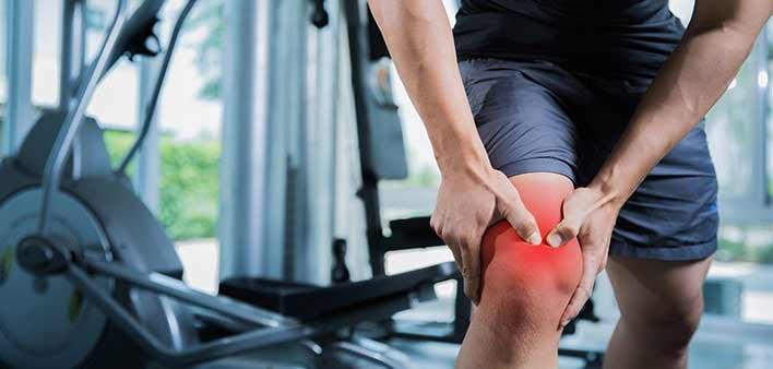 درد زانو ، کاهش درد زانو با ورزش ، علت درد زانو