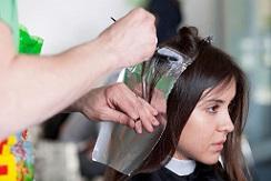 اصول صحیح رنگ کردن مو در بانوان