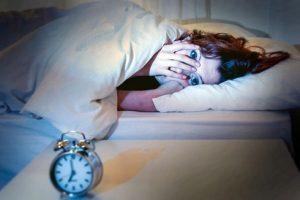 بی خوابی شبانه