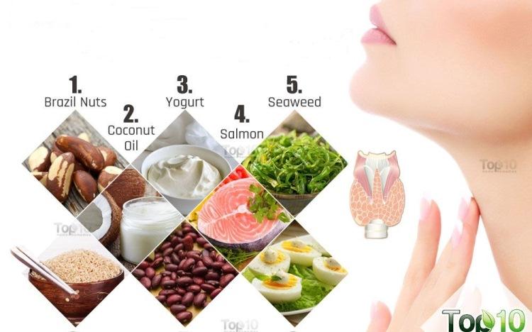 غذاهای اصلی برای کم کاری تیروئید